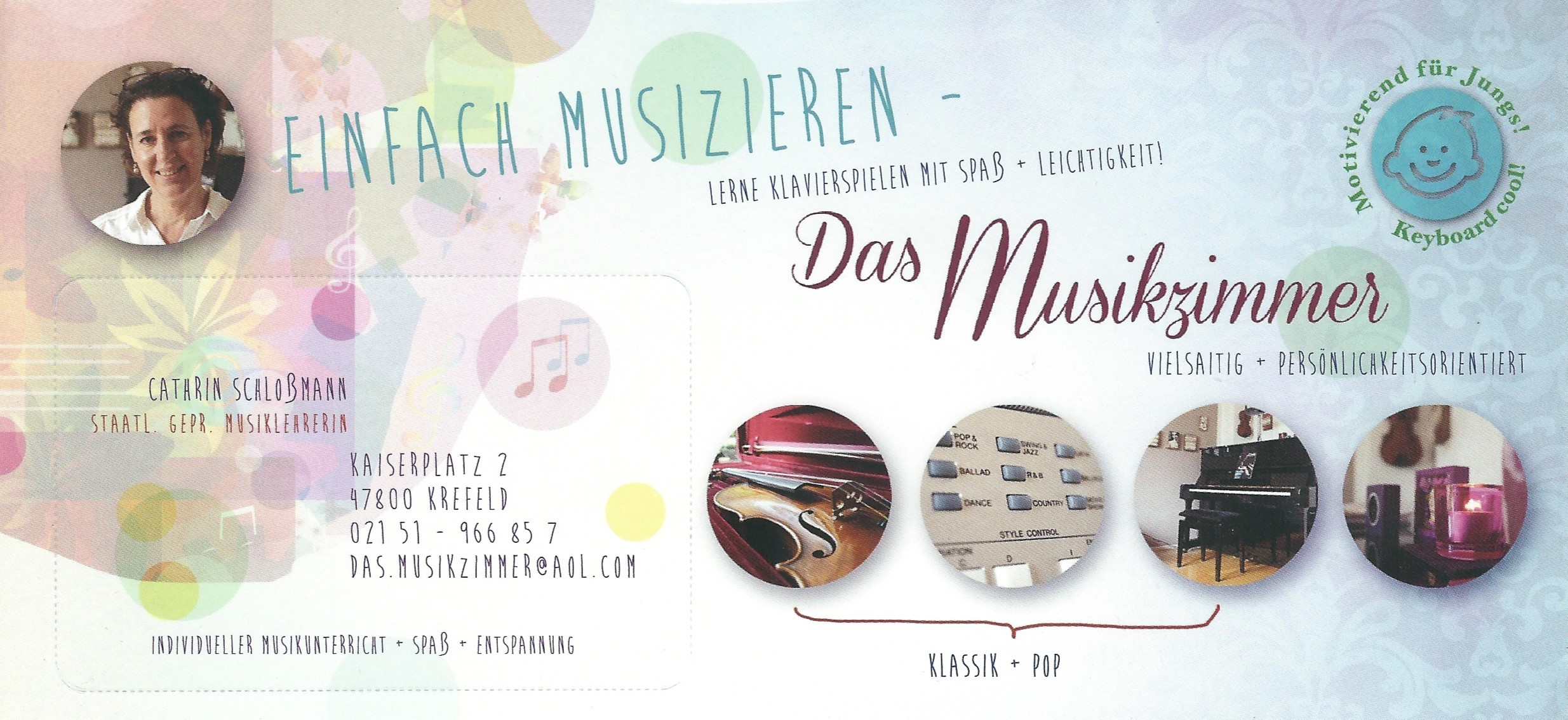 Kontaktdaten Cathrin Schlossmann